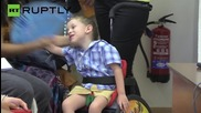 Paraplegic Children Walk with Cutting-Edge Exoskeleton