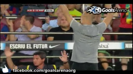 Barcelona 5-0 Napoli ( Friendly - Gamper Cup ) 22/08/2011