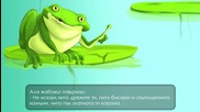 Принцесата и жабокът - Приказка за деца