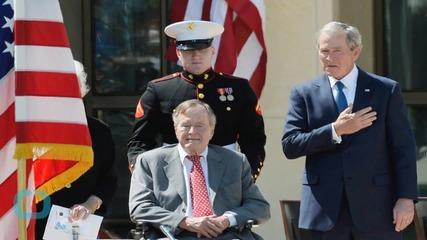 Former President Bush, 90, to Spend Fourth Night in Houston Hospital