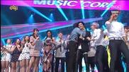 140830 Taemin 2nd win - Music core