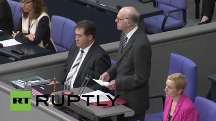 "Germany: Bundestag labels Armenia mass killings as ""genocide"""