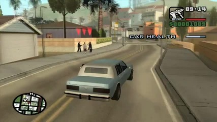 Gta San Andreas - Mission 7 - Drive-by
