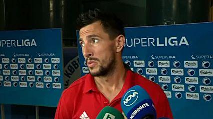 Манолев: Не започнахме добре мача, фаворити сме срещу Лудогорец