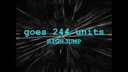Sniperok goes 244 units highjump hj new world record (wr)