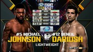 Michael Johnson vs Beneil Dariush (ufc Fight Night 73, 08.08.2015)