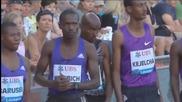 Mo Farah Finishes Fourth in 1500m in Monaco