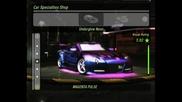 Need For Speed Underground 2 Tuning - Mazda Rx8