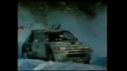Peugeot 205t16 Rally In Action