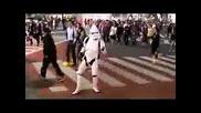 Tokyo Dance Trooper In Shibuya