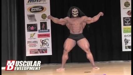 Kai Green Best Bodybuilding Poser 2011