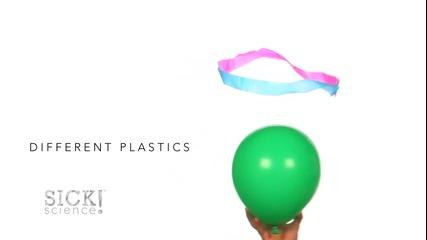 Готин опит със статично електричество и балон