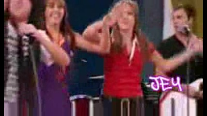 Mitchel Musso Singing Last Forever (throw Your Hands Up) On Hannah Montana(hg)