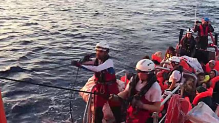International waters: 47 migrants brought aboard Aquarius following rescue op