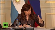 Russia: Strategic ties with Russia are necessary - Kirchner