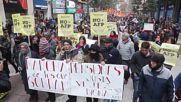 Chile: Retirees protest against private pension funds in Santiago