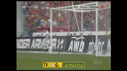 Хановер 96 - Хофенхайм 0:1 Гол на Карлос Едуардо
