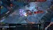 Alienware LoL 1vs1 - 1/2 финал #2 Mfrock vs MelonDestructor