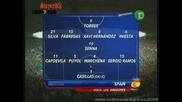 Германия - Испания 0 - 1 Съставът На Испания - Vbox7