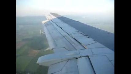 Bulgaria Air - Кацане Във Виена