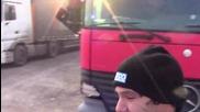 На паркинга с Ицо и Данчо
