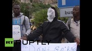 Стотици имигранти блокирани на италианско-френската граница