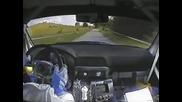 Най - лудото шофиране!subaru Impreza Wrc - Polish driver got crazy