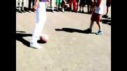 Много яки футболни умения