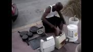 Drum and Bass [невероятно улично представление]