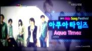 (hd) Aqua Timez - Rainbow ( Japan) ~ 2012 Asia Song Festival (24.08.2012)