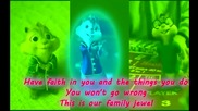 Chipmunks & Chipettes-we Are Family
