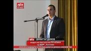 Кандидатът от Пп Атака Димитър Димов в Симеоновград, 29.09.2014г.