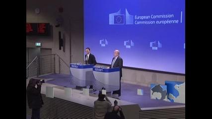 EK наложи глоба от 1,4 млрд. евро на известни компании за телевизори