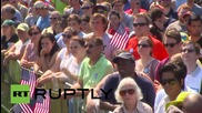 USA: 'Black Lives Matter' protesters disturb Martin O'Malley rally