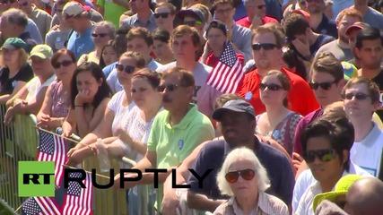 USA: 'Black Lives Matter' protesters disturb Martin O'Malley rally