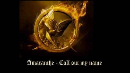 Amarante - Call Out My Name