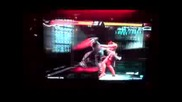 Tekken 6 - Zafina Vs. Jin + Zafina Special item use