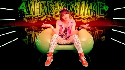 4minute - What's your name Teaser ( Jiyoon )