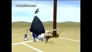 Старт - Щраус Vs Пингвин - Смешна Анимция