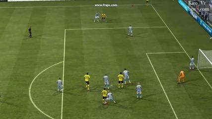Fifa 2013 - Хубав гол, но ако не беше засада на Sebastian Kehl