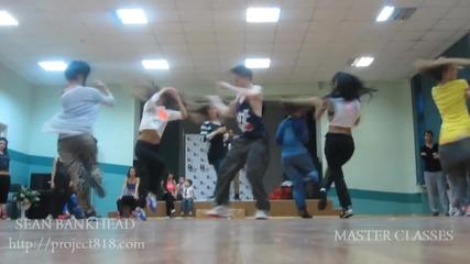 Уроци по танци Master Classes Sean Bankead в St.petersburg