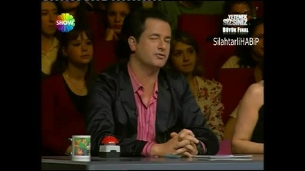 Yetenek sizsiniz Turkiye Buyuk Final Turkish got Talent iranli Aref Ghafouri - part 2 - 20 Mart 2011