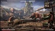 Mortal Kombat X - Johnny Cage vs Liu-kang
