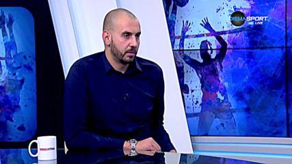 Георги Братоев с коментар след кръга в Суперлигата по волейбол