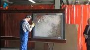 Най - Жестокият тест срещу бронирано стъкло