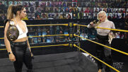 Rhea Ripley, Bianca Belair surprise Raquel Gonzalez with a champions' salute: WWE NXT, April 13, 2021