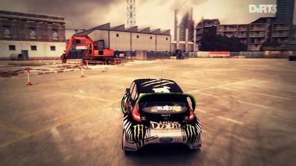 Dirt 3 - Some Drifting