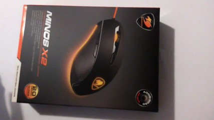 Unboxing- Cougar - Minos X2 Gaming mouse