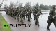 Estonia: NATO troops drill as Victory Day is celebrated across the border