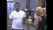 Борислава се представя като главния дразнител в Къщата, Петрови изглеждат видимо спокойни .